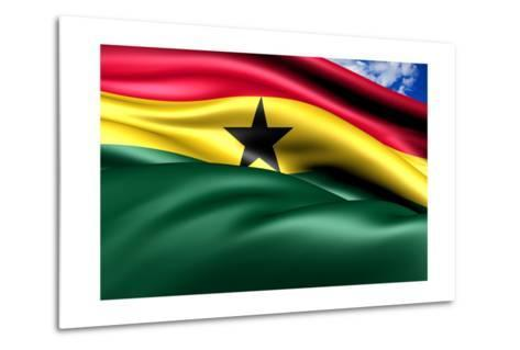 Flag Of Ghana-Yuinai-Metal Print