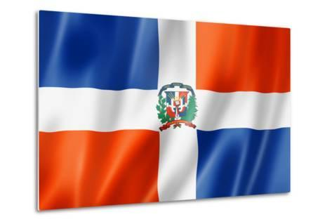 Dominican Republic Flag-daboost-Metal Print