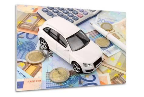 Euro Car Finance-spectrumblue-Metal Print