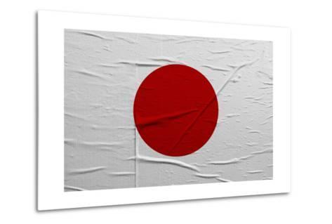 Japan Flag-igor stevanovic-Metal Print