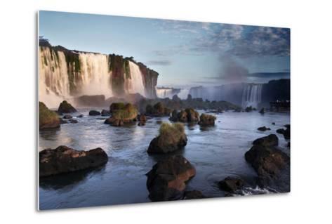 Iguazu Falls-zothen-Metal Print