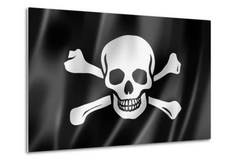 Pirate Flag, Jolly Roger-daboost-Metal Print