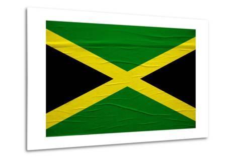 Jamaican Flag-igor stevanovic-Metal Print