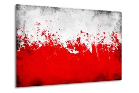 Poland Flag-igor stevanovic-Metal Print