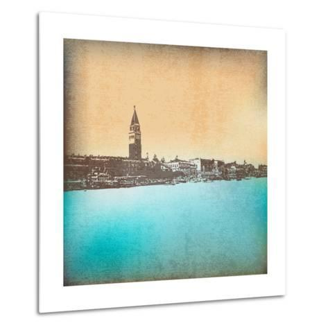 Venetian Vintage Background-Petrafler-Metal Print