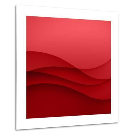 Abstract Red Background-Click Bestsellers-Metal Print