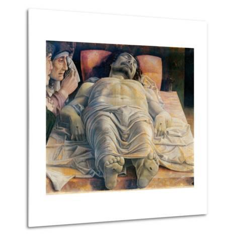Christo in Scurto (Foreshortened Christ or the Dead Christ)-Andrea Mantegna-Metal Print