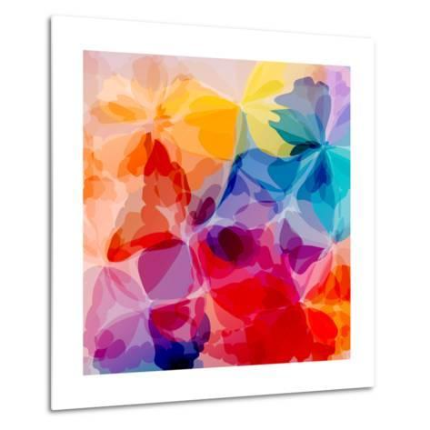 Multicolored Background Watercolor Painting-epic44-Metal Print