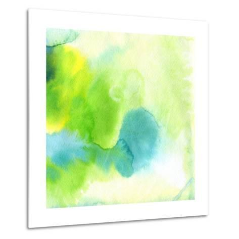 Abstract Watercolor Hand Painted Background-katritch-Metal Print