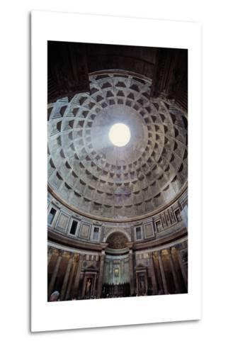 Pantheon, 118-125, Rome, Italy--Metal Print