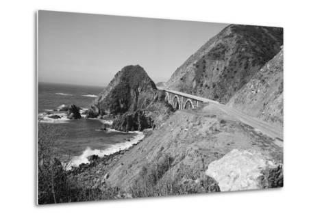 California Highway 1-Philip Gendreau-Metal Print