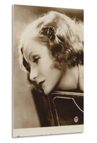 Greta Garbo--Metal Print
