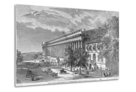 State Department at Washington--Metal Print