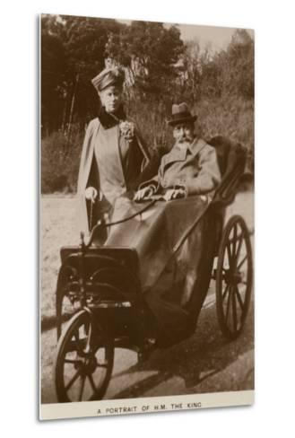 George V and Mary of Teck--Metal Print