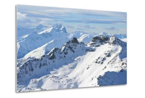 The Alps-M. Sutherland-Metal Print