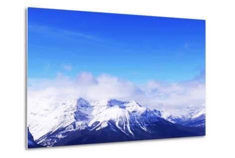 Snowy Mountains-elenathewise-Metal Print