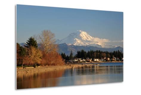 Mt. Rainier Sunset-nikon700photog-Metal Print