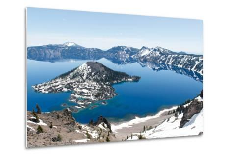 Crater Lake National Park, Oregon-demerzel21-Metal Print