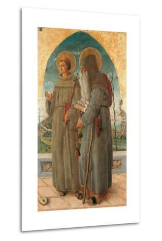 St. Francis and St. Anthony Abbot-Schiavone Chiulinovich-Metal Print