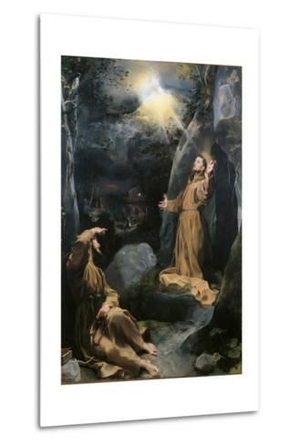 Saint Francis Receiving the Stigmata-Barocci-Metal Print