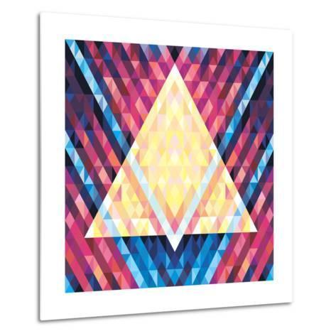 Geometric Pattern 02- serkorkin-Metal Print