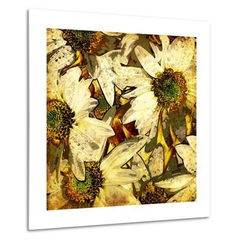 Art Floral Vintage Colorful Background. To See Similar, Please Visit My Portfolio-Irina QQQ-Metal Print