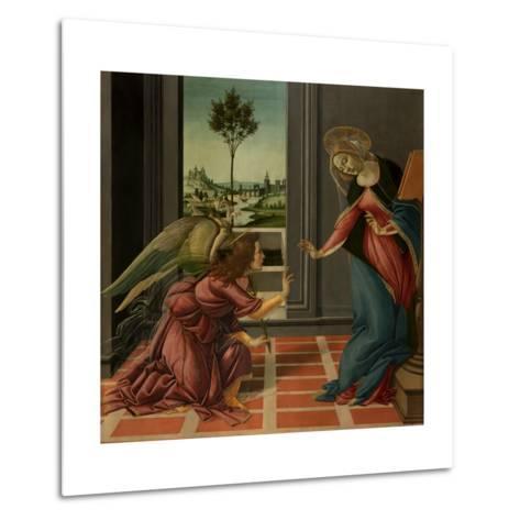Annunciation-Sandro Botticelli-Metal Print