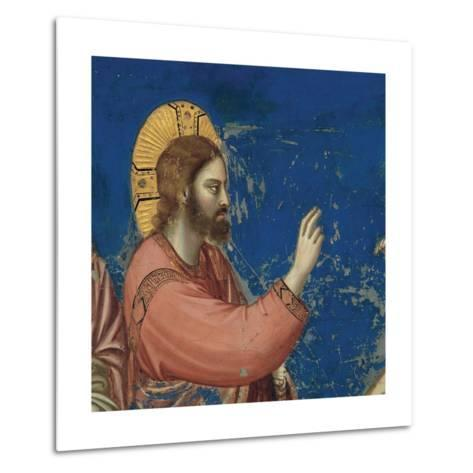 Life of Christ, Raising of Lazarus-Giotto di Bondone-Metal Print