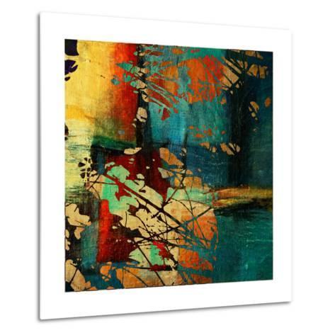 Art Grunge Vintage Texture Background. To See Similar, Please Visit My Portfolio-Irina QQQ-Metal Print