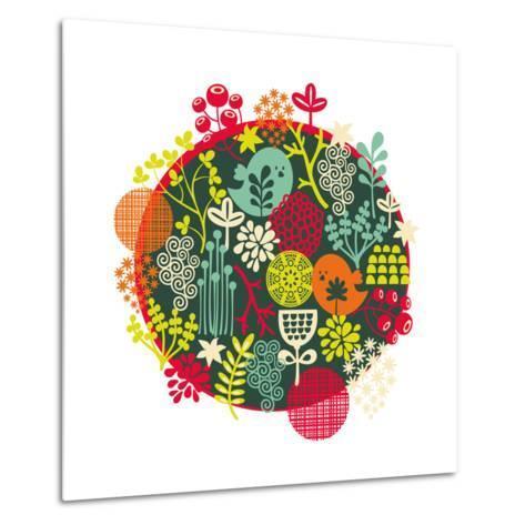 Birds, Flowers And Other Nature-panova-Metal Print