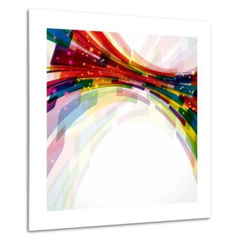 Multicolor Abstract Bright Background. Elements For Design-OlgaYakovenko-Metal Print