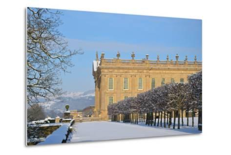South Front, Chatsworth House, Derbyshire--Metal Print