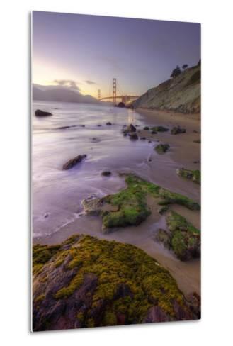 Return to Baker Beach II-Vincent James-Metal Print