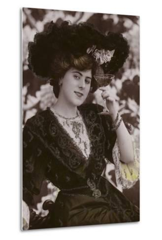 Gaynor Rowlands, English Actor, Singer and Dancer--Metal Print