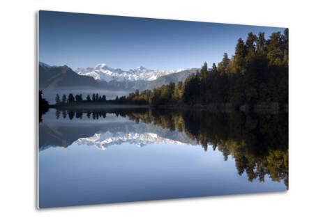 Lake Matheson, Mt Cook, New Zealand-PhotoImages-Metal Print