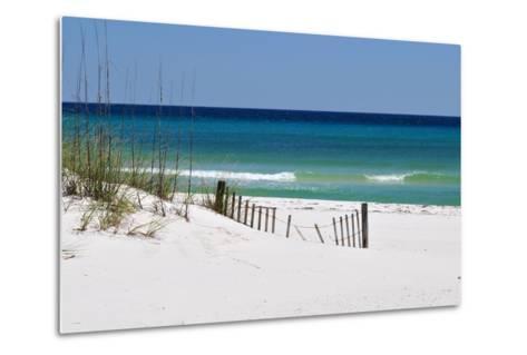 White Sand Beach-Corey Chestnut-Metal Print