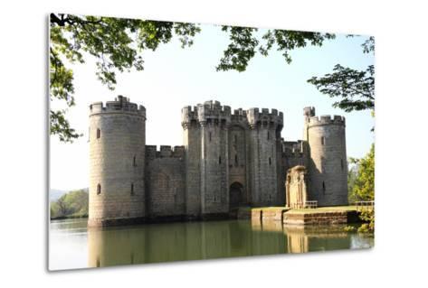 Bodiam Castle-Tony Baggett-Metal Print