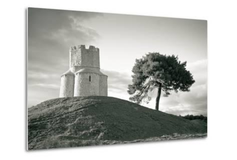 Dalmatian Stone Church on the Hill-xbrchx-Metal Print