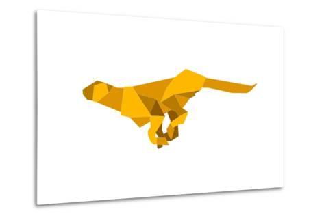 Origami Made Puma-Denny Stoekenbroek-Metal Print