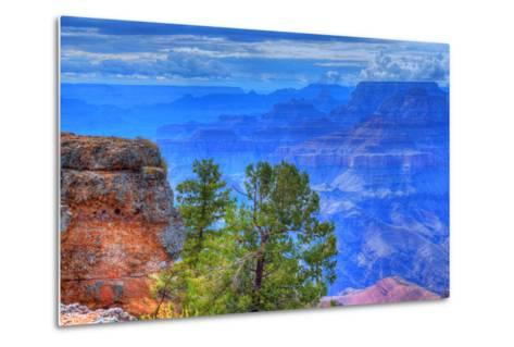 Grand Canyon Storm-diomedes66-Metal Print