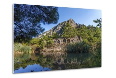 Ruins in Olympos, Antalya, Turkey-Ali Kabas-Metal Print