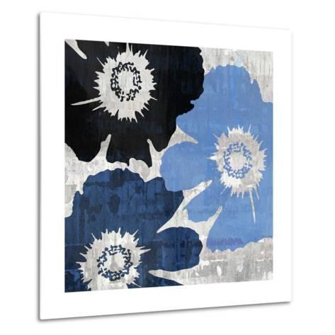 Bloomer Squares XIII-James Burghardt-Metal Print