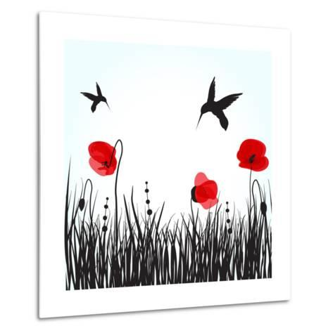 Hummingbirds-mcherevan-Metal Print