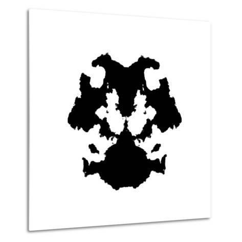 Rorschach Inkblot-kgtoh-Metal Print