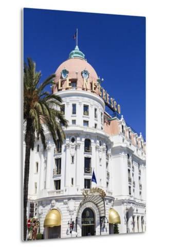 Hotel Negresco, Promenade Des Anglais, Nice-Amanda Hall-Metal Print