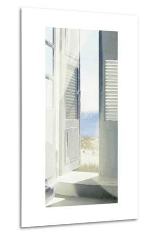 Coastal Doorway II-Noah Bay-Metal Print