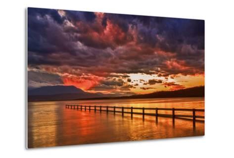 Mortimer Bay Sunset-Margaret Morgan-Metal Print