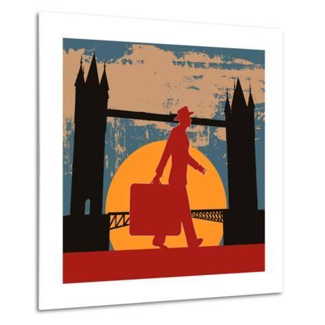 London Break-Petrafler-Metal Print
