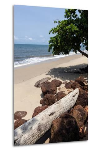 View of the Ocean on the Gulf of Guinea, Libreville, Gabon-Alida Latham-Metal Print