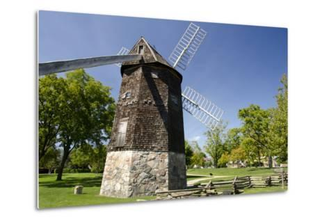 Farris Windmill, Greenfield Village, Dearborn, Michigan, USA-Cindy Miller Hopkins-Metal Print